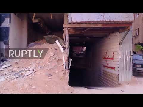 Syria: Hidden tunnel network, underground hospitals uncovered in Eastern Ghouta