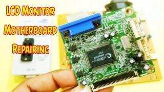 LCD LED Monitor's main board Repairing tips and process