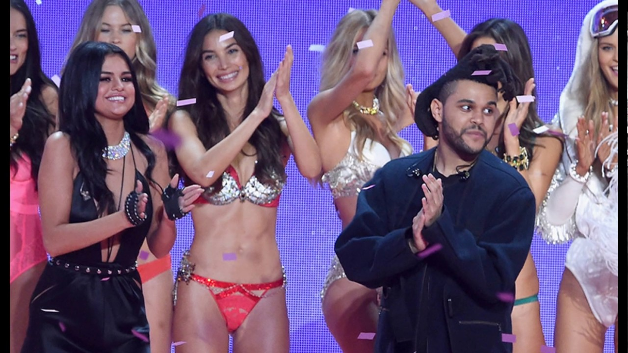 f8cead71b92 The Weeknd and Selena Gomez Victoria s Secret 2015 - YouTube