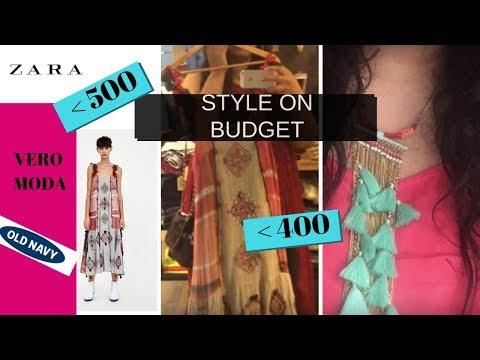 Style on Budget : ZARA, VERO MODA | Export Surplus Fashion Haul , Hyderabad Shopping | Priyanka