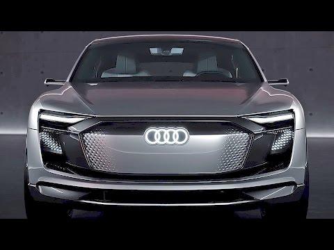 Audi e-tron Sportback (2017) Coupe SUV Concept