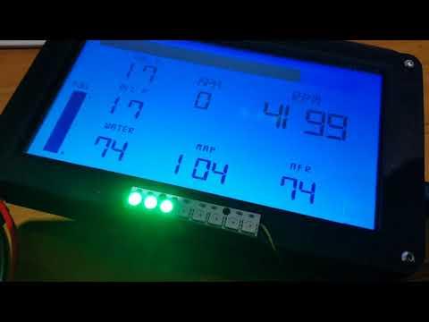Nextion Dash running wireless with speeduino ECU