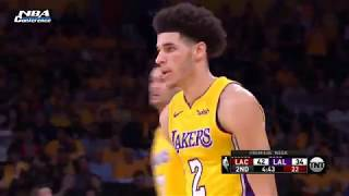 Lakers vs Clippers 1st Half Highlights