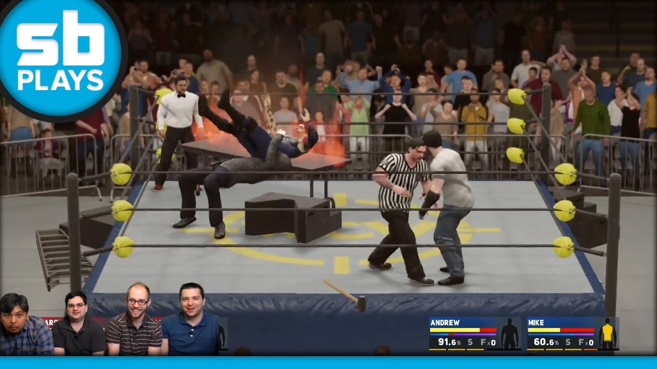 SB Live Marathon 2016 - Part 2 - WWE 2K17