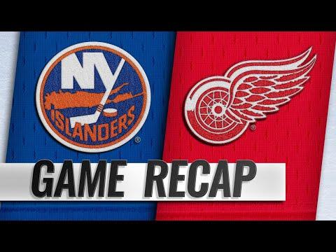 Athanasiou, Bernier lead Red Wings past Islanders