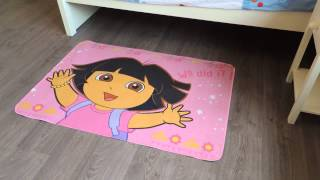 Dora Vloerkleed - Leuk Speelkleed Dora - Speelmat Dora