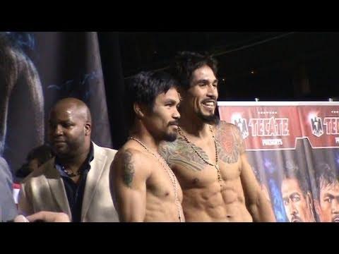 Manny Pacquiao / Antonio Margarito Weigh-In at Cowboys Stadium [FULL]