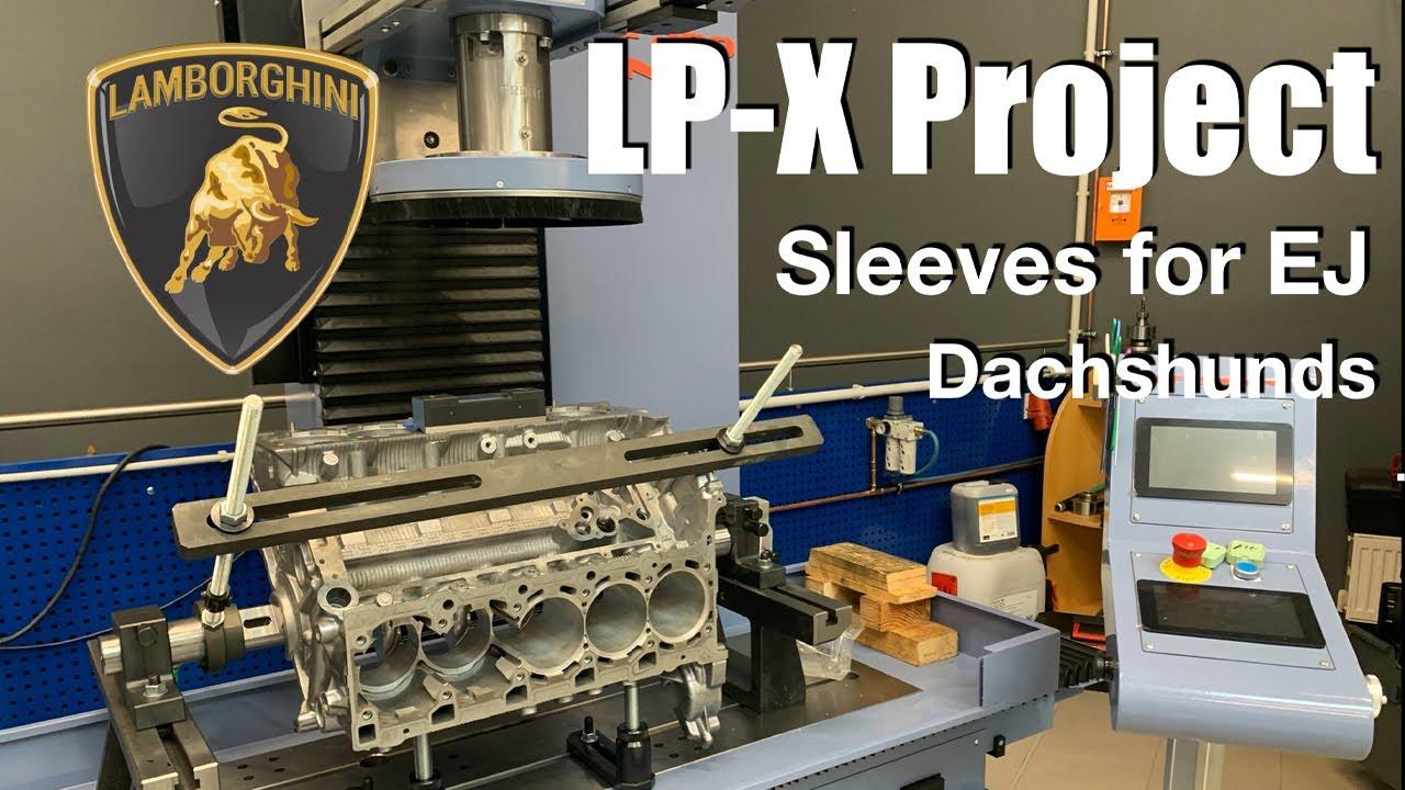 Philipp Kaess Lamborghini Project l EJ25 Sleeving l CNC l Dachshund Party l Vlog l Subi-Performance