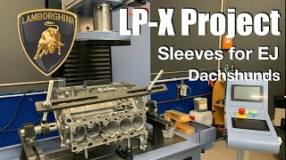 Philipp Kaess Lamborghini Project l EJ25 Sleeving l CNC l Dachshund Party l Vlog l Subi-Performance