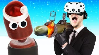 Christmas Update! Holiday Hot Dogs! - Hot Dogs Horseshoes & Hand Grenades -  HTC Vive VR