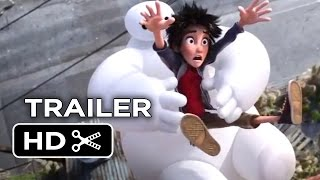 big hero 6 official trailer 1 2014 disney animation movie hd