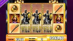 £5,135.70 MEGA BIG WIN (1007 X STAKE) BLACK KNIGHT™ BIG WIN SLOTS AT JACKPOT PARTY