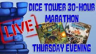 Thursday Evening (Dice Tower 2018 Marathon!)