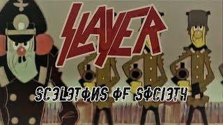 Slayer Cartoon -  Skeletons Of Society