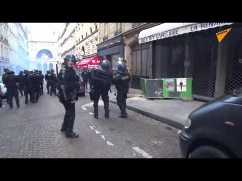Acte 18: les Gilets jaunes défilent à Paris après la fin du Grand débat