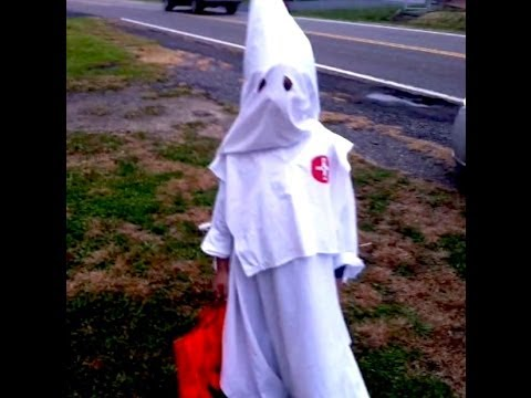 7 Year Old Wears KKK Halloween Costume - Jim and Them Commentary - YouTube