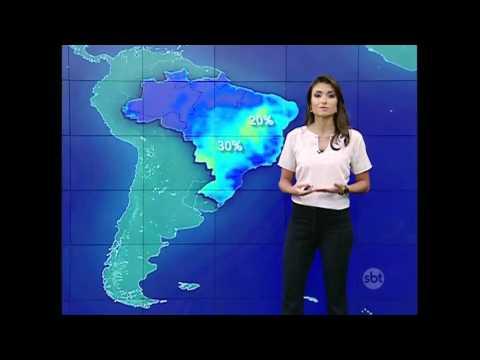 SBT Brasil (16/04/16) - Previsão Do Tempo Para O Domingo De Votação Do Impeachment
