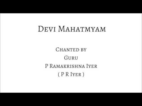 LEARN DEVI MAHATMYAM - Slow Chanting by Guru P R Iyer