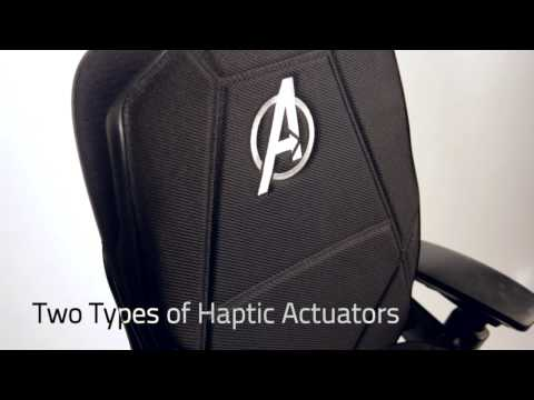 Marvel Avengers Vybe Haptic Gaming Pad