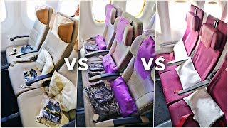 Top 10 Airlines - EMIRATES vs ETIHAD vs QATAR Economy Class | Which Airline Is Best?! | Economy Week