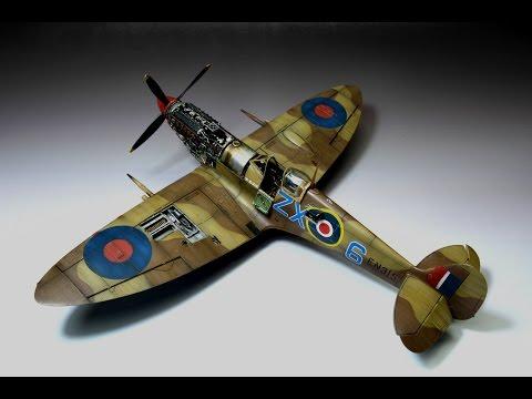 Spitfire Mk.IXc Eduard 1:48 Stanisław Skalski Step by Step
