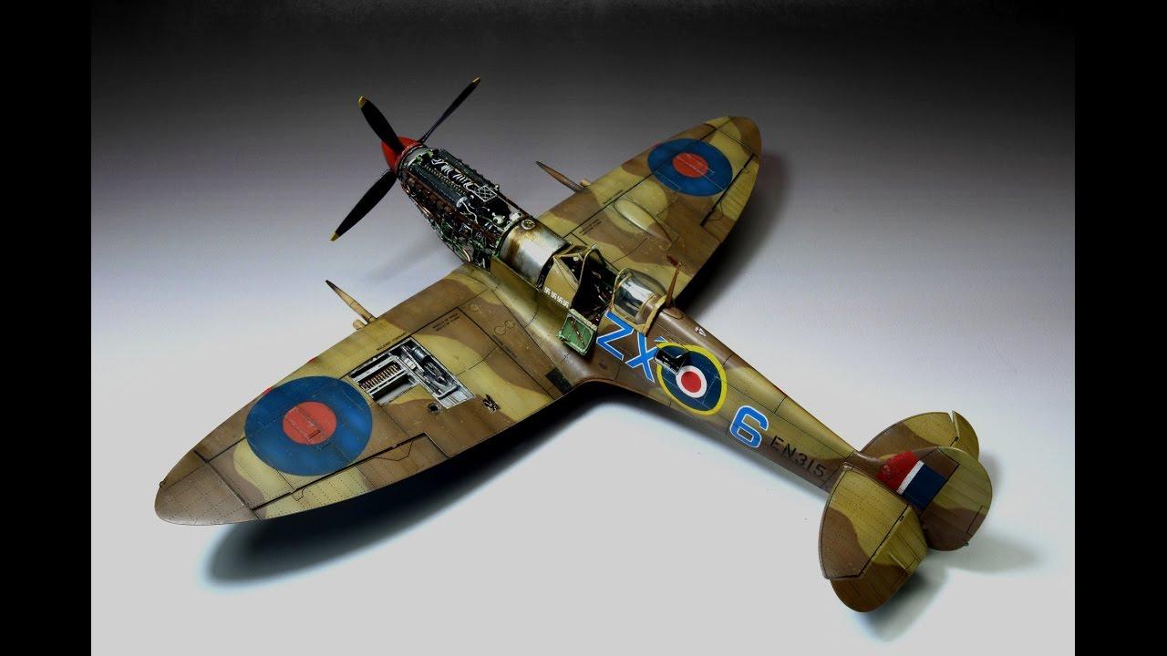 Spitfire Mk Ixc Eduard 1 48 Stanisław Skalski Step By Step Youtube