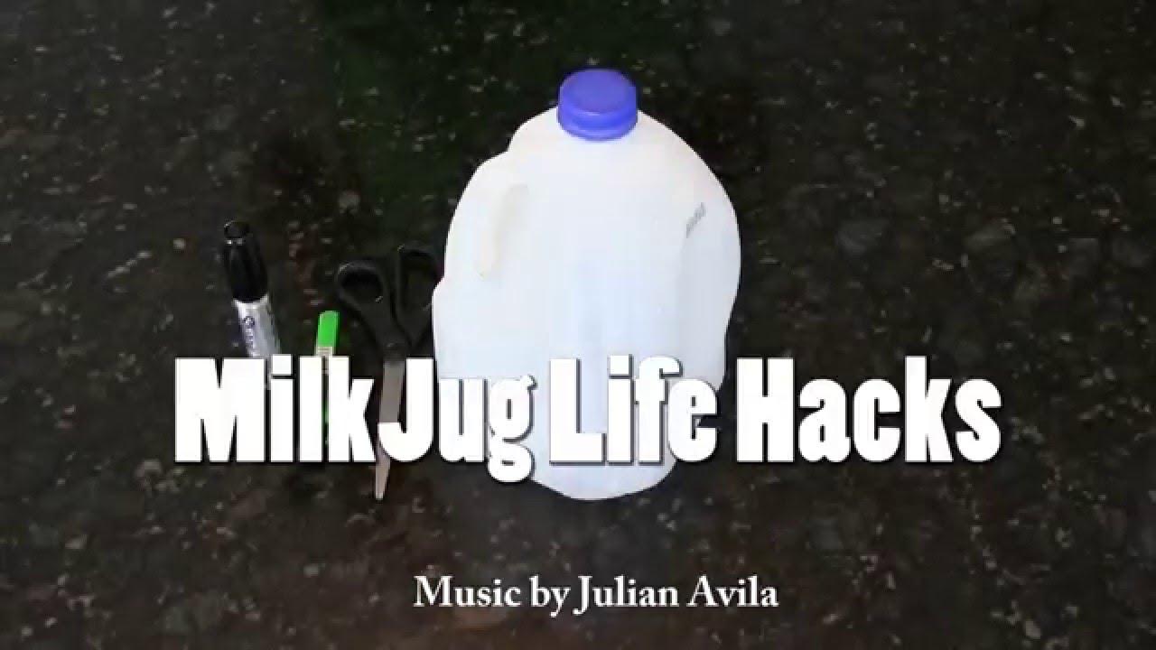 5 Milk Jug Life Hacks You Should Know