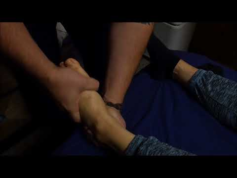 Mobile Massage Rx Los Angeles. Ankle manual therapy
