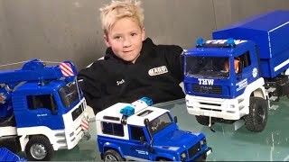 BRUDER Toys Videos✅ THW Bruder Trucks Collection 150.000 Subscribers👍