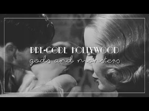 Pre-Code Hollywood | Gods & Monsters
