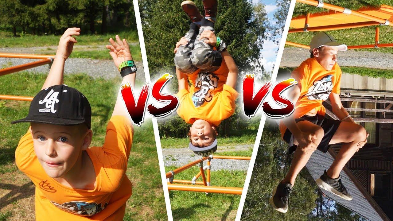 Dětská Backflip Challenge #2 | Tary Camp 2019