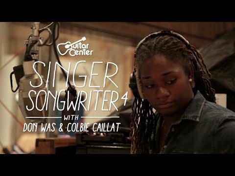Singer-Songwriter 4 Winner Lanita Smith with Don Was at Henson Recording Studios