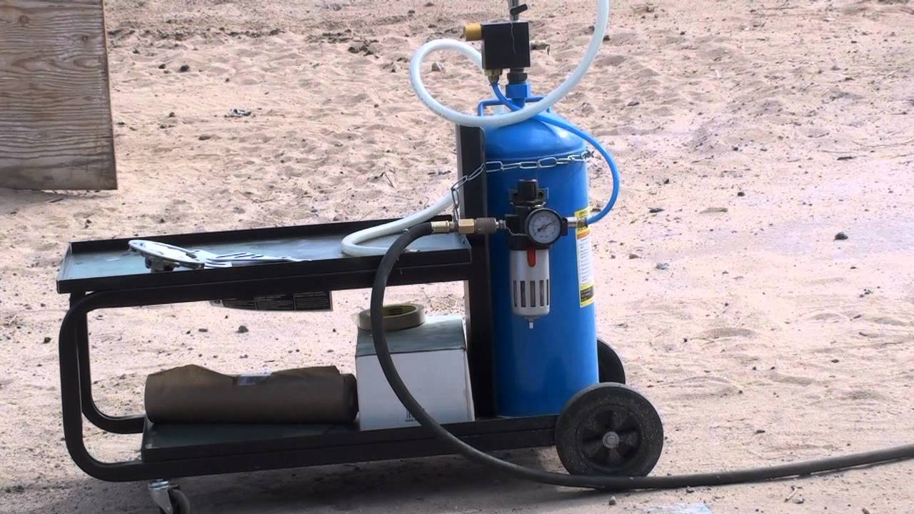 Harbor Freight Soda Blaster 2 Youtube