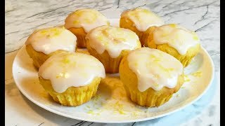 Лимонные Кексы / Lemon Cupcakes / Лимонные Маффины / Lemon Muffins / Простой Рецепт (Очень Вкусно)