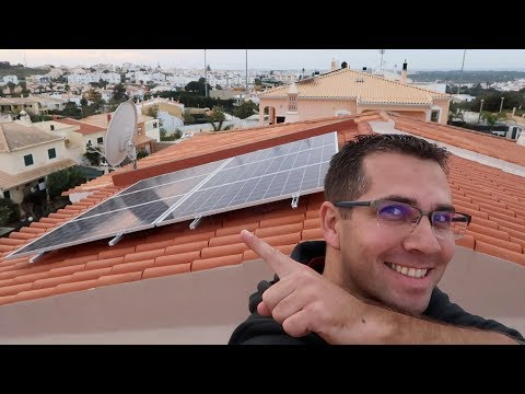 INSTALLED my Solar Panels | Photovoltaic | Energy Production | PV