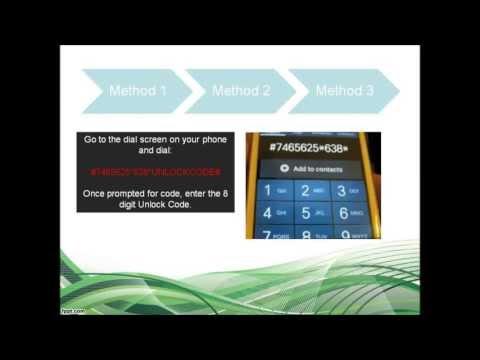 How to Unlock Samsung Omnia W I8350 Via Code (all 3 Instructions)