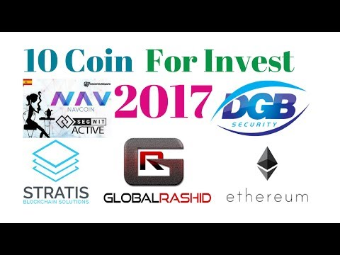 10 Coin For Invest 2017 Short Term To Long Term By Global Rashid in Hindi/Urdu