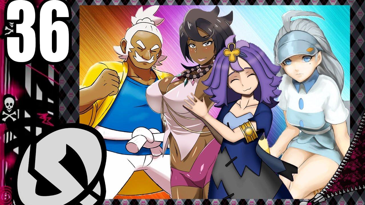 pokemon sun moon elite four alolian showdown 36 youtube