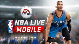 NBA Live Mobile Gameplay!