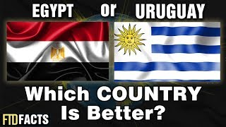 EGYPT or URUGUAY - Which Country Is Better? | World Cup 2018