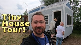 Tiny House Tour - Wisconsin Tiny House At Mrea Energy Fair