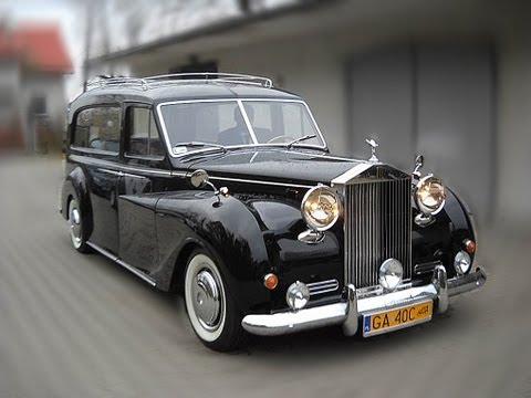 Rolls Royce Hearse Odbudowa Karawan Pogrzebowy Orszak