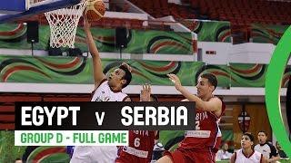 Egypt v Serbia - Group D Full Game - 2014 FIBA U17 World Championship
