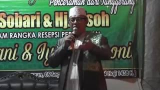CERAMAH KH. SOBARI - TANGGERANG