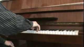 Урок пианино № 6. Правильная постановка пальцев при игре на пианино (аппликатура)