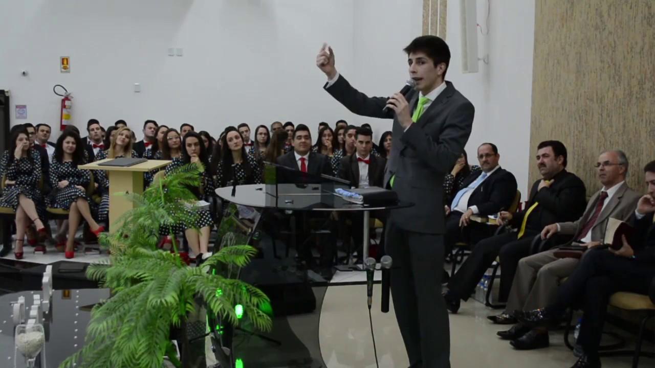 Isaque Romano - pregação- Mensagem de Poder  - Pregador da Palavra de Deus.