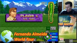 NEO TURF MASTERS (Neo Geo) || Fernando Almeida World Tour 2015 || Gameplay en Español