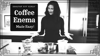 How to do a coffee enema and why?