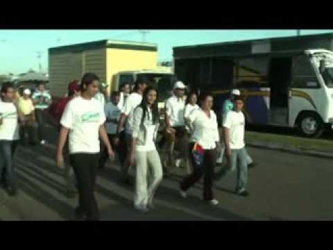 SORAYA HERNANDEZ GOBERNADORA DE MONAGAS - RECORRIDO POR LOS GODOS