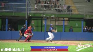 Video highlights: Italian Baseball Week Final Match, Italy vs Spain